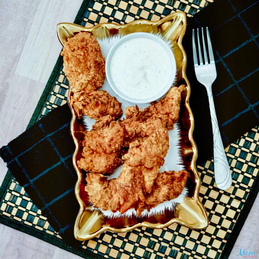 Buttermilk Fried Chicken Tenders #Recipe #chicken #foodie #easymeal