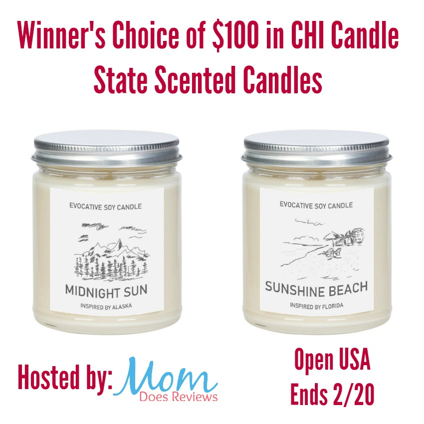 CHI Candle Giveaway Graphic