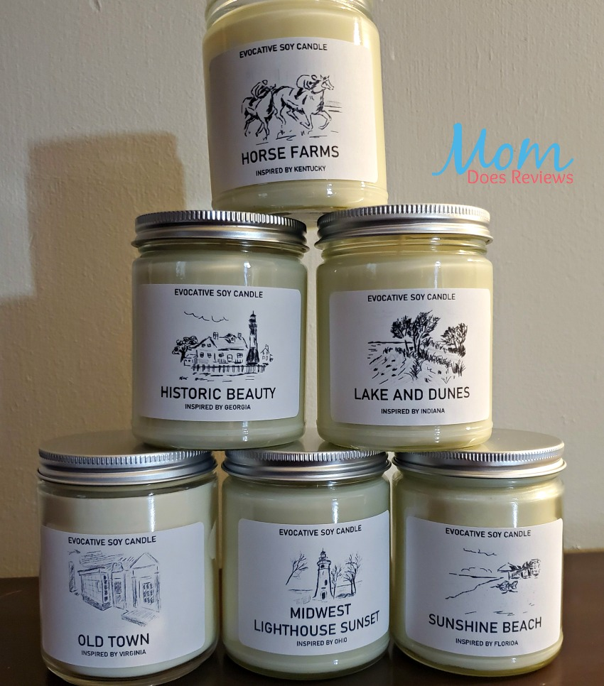 State Candles from CHI Candle Reminds You of Home