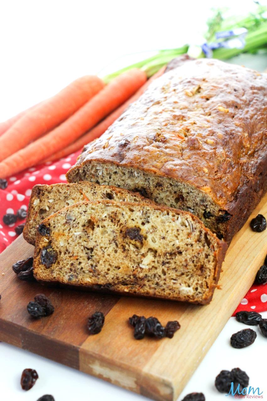 Easy Carrot Bread #recipe #foodie #bread