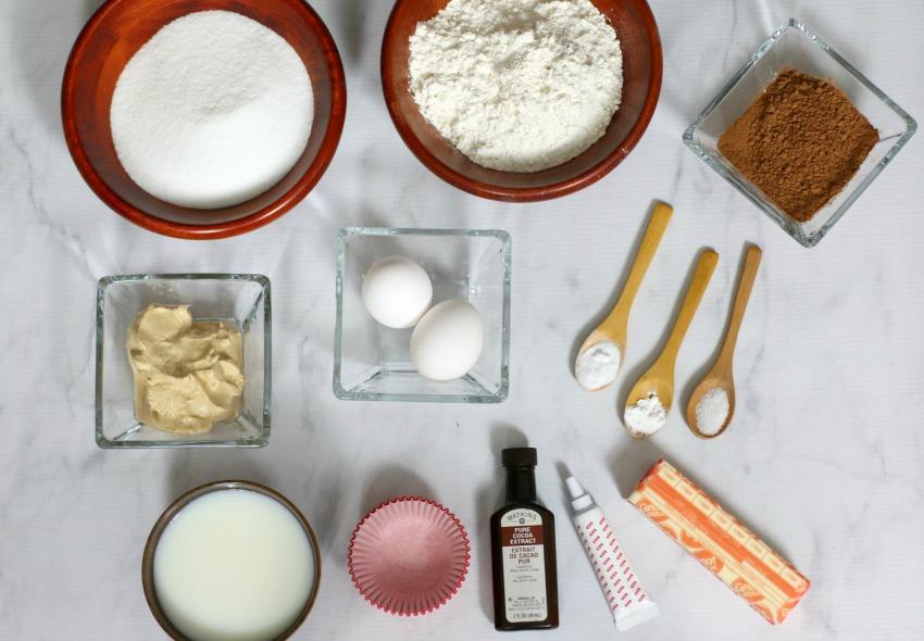 Dalmation Cupcakes Ingredients