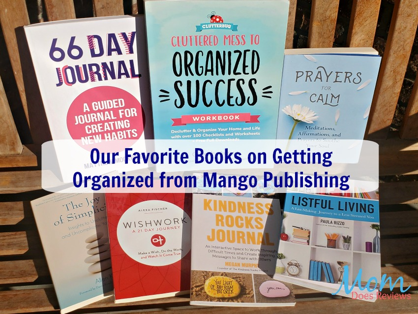 Our Favorite Books on Getting Organized from Mango Publishing