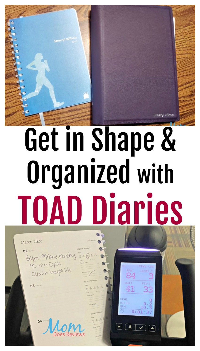 Get in Shape and Organized with TOAD Diaries