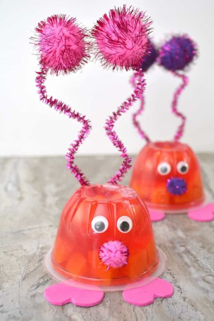 Love Bug Fruit Cups for Kids