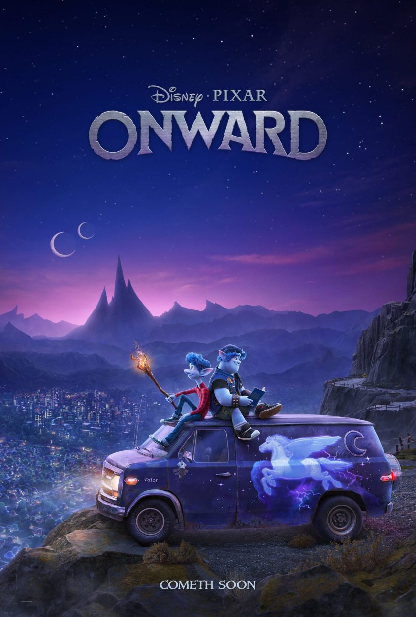 Onward In theaters March 6 #PixarOnward