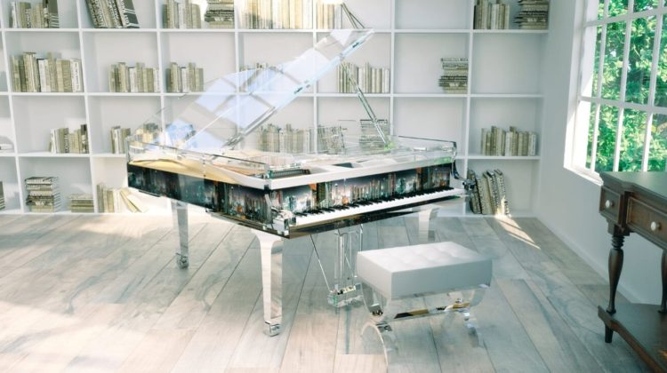 Decorating A Living Room With A Piano