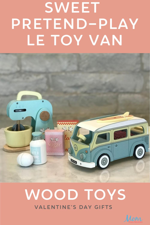 Sweet Pretend Play Wood Toys by Le Toy Van