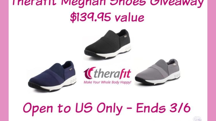 #Win Therafit Meghan Slip-On Shoe $139.95 arv