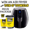 #Win a GoWise Air Fryer plus Tub O' Towels cleaning wipes!