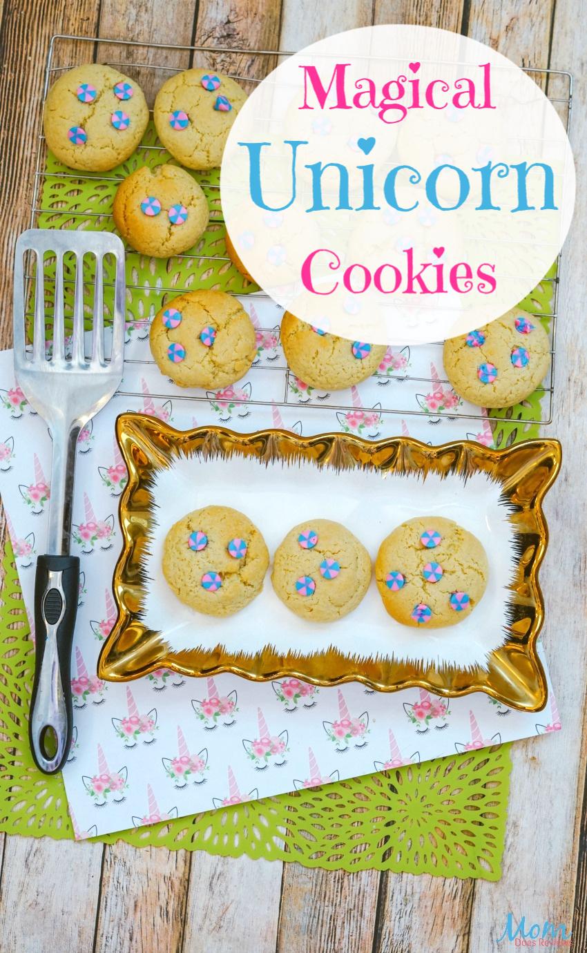 Magical Unicorn Cookie Recipe #cookies #unicorns #desserts #funfood