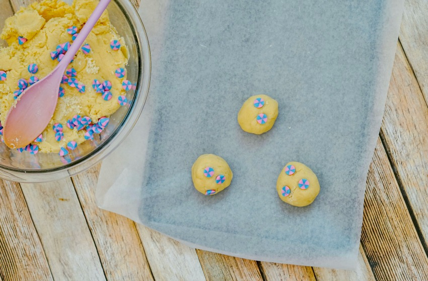 Magical Unicorn Cookie process