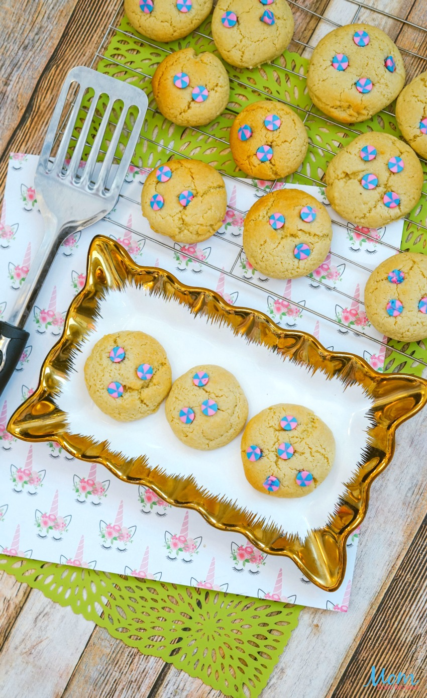 Magical Unicorn Cookies Recipe #cookies #unicorns #desserts #funfood