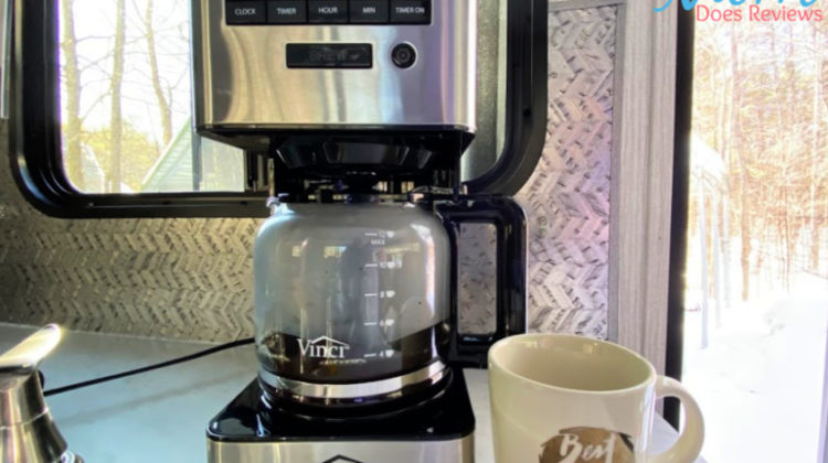 Coffee Lovers: Try Vinci Housewares Auto Pour-Over Coffee Maker #Sweet2020