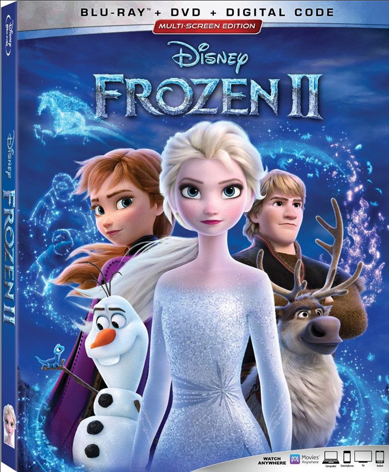 #Win Blu-ray Combo Pack of Frozen 2! US, ends 2/20