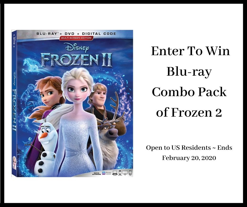 #Win Blu-ray Combo Pack of Frozen 2