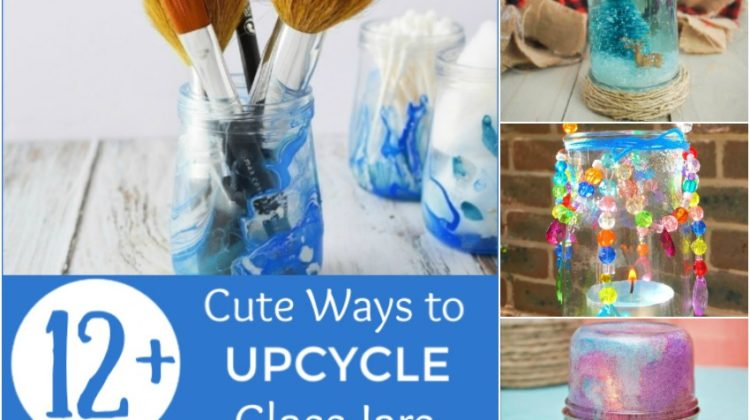 12+ Cute Ways to Upcycle Glass Jars