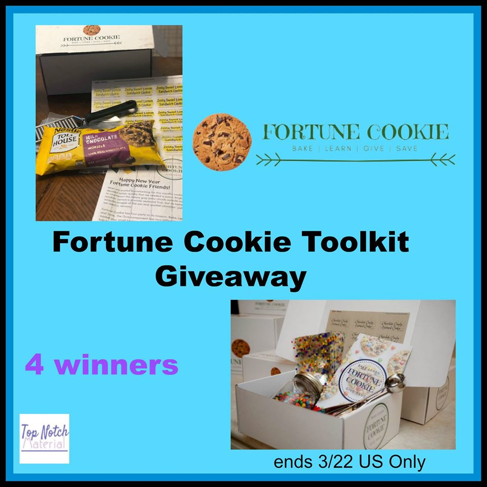 Fortune Cookie Toolkit – 4 #Winners, US ends 3/22