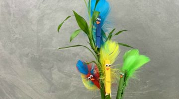 Super Cute Bird Buddies Clothespin Craft
