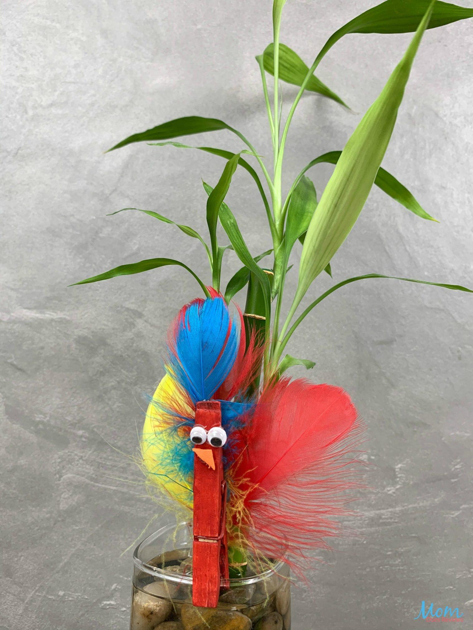 Super Cute Bird Buddies Clothespin Craft