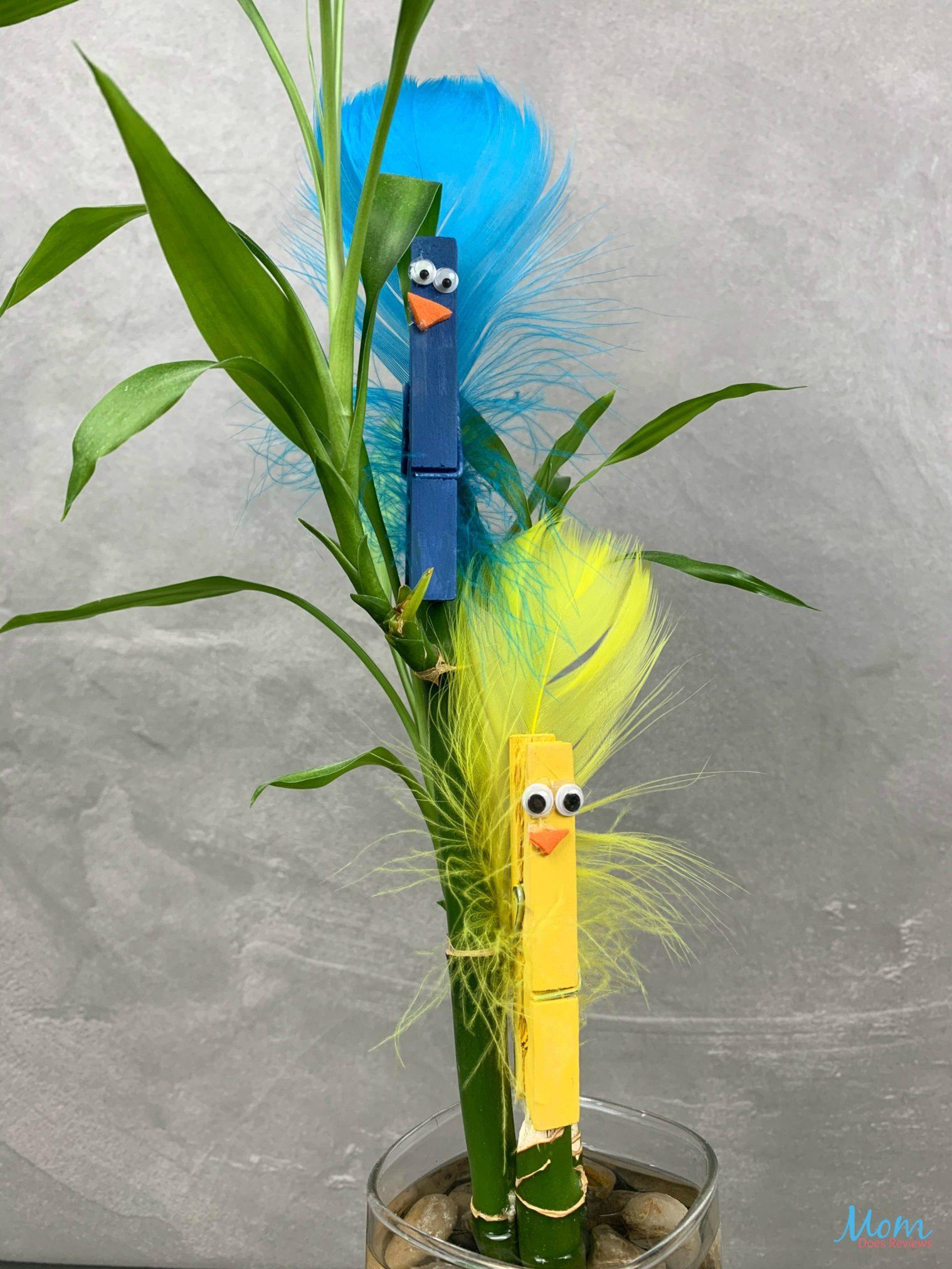 Super Cute Bird Buddies Clothespin #Craft #boredombuster #diy #funstuff