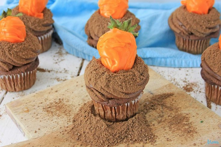 Carrot Patch Cupcakes Recipe & Tutorial