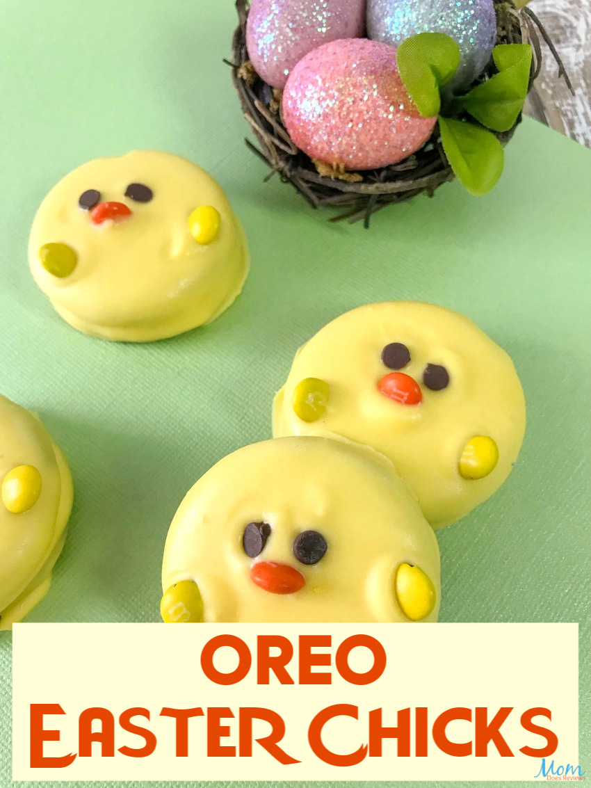 How to Make Super Cute Easter Chick OREOS #easter #funfood #desserts