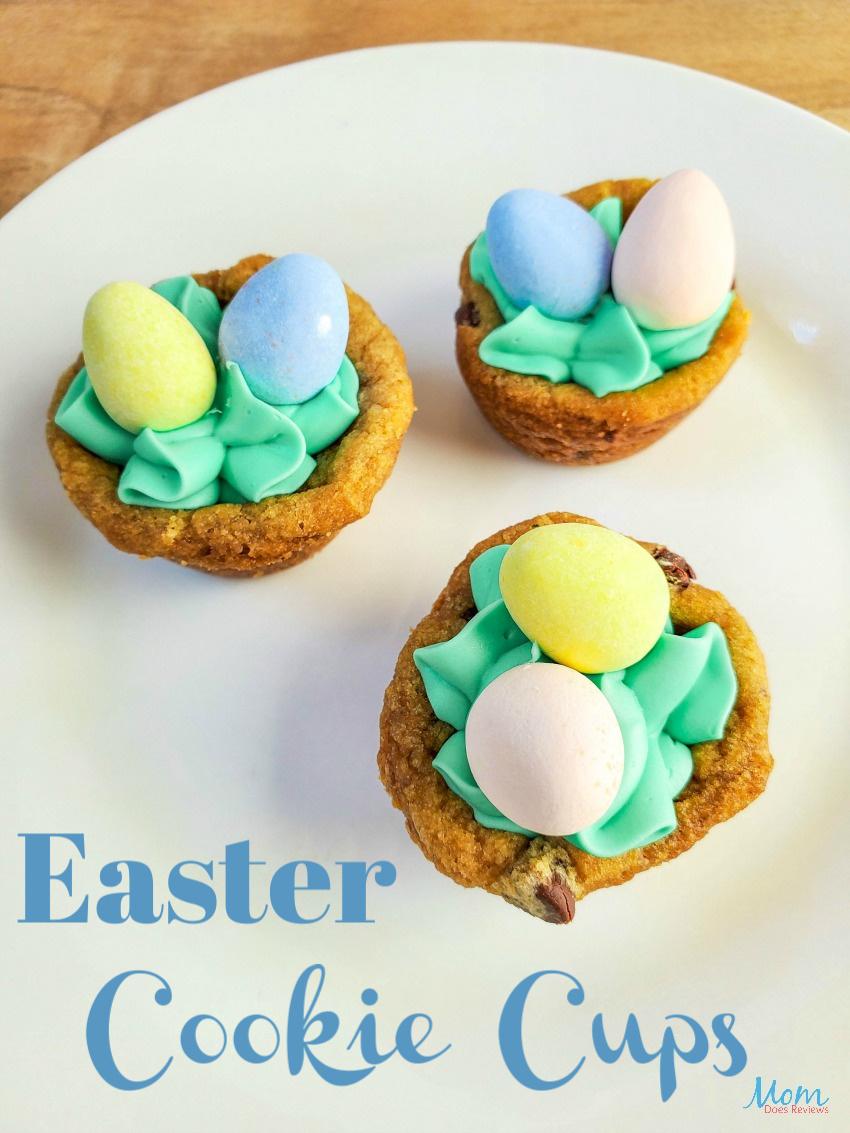 Easter Cookie Cups #sweets #Easter #cookies