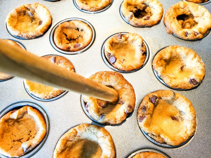 Easter Cookie Cups Recipe process