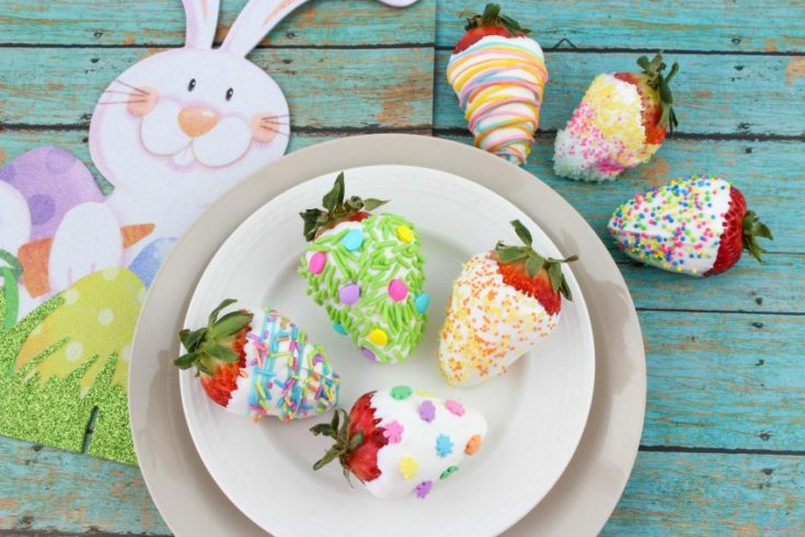 Adorable Easter Strawberries Recipe Tutorial