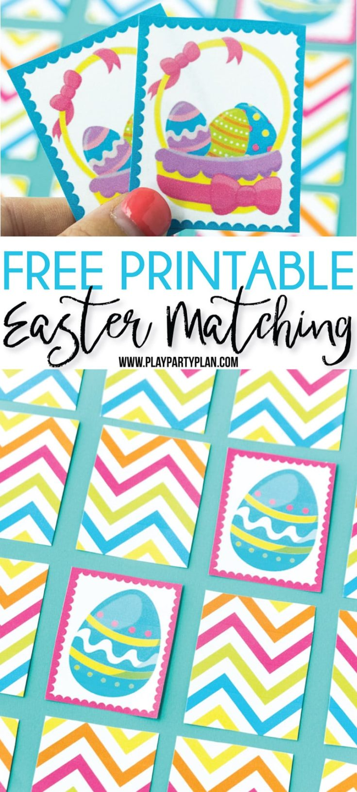 Free Printable Easter Memory Game