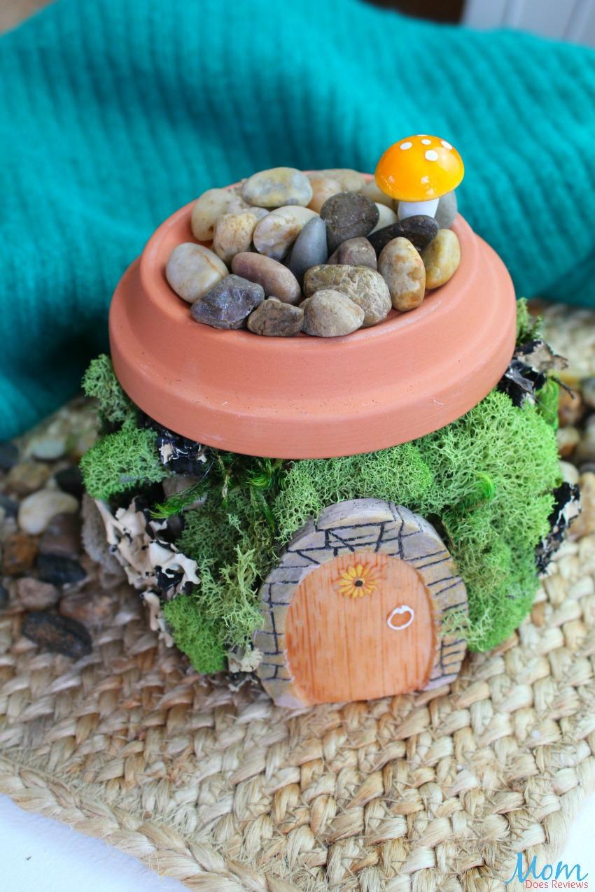 How to Make a Fairy Garden Home #DIY #craft #fairy #garden