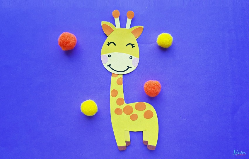 Super Cute Giraffe Paper Craft for Kids