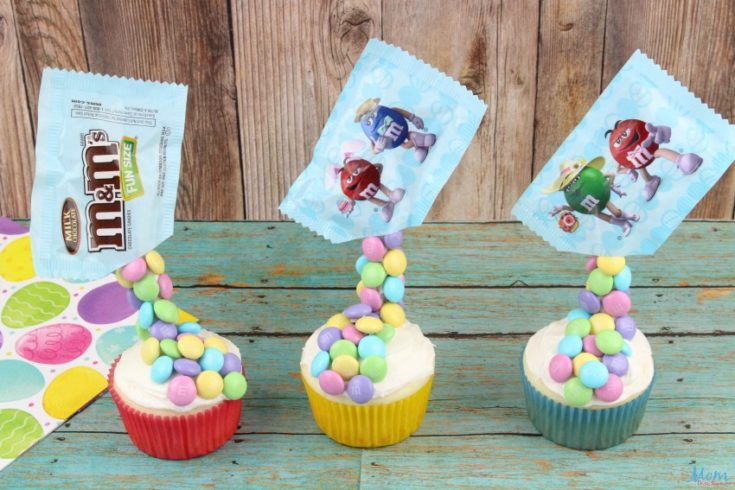 Gravity M&M Easter Cupcakes Recipe & Tutorial