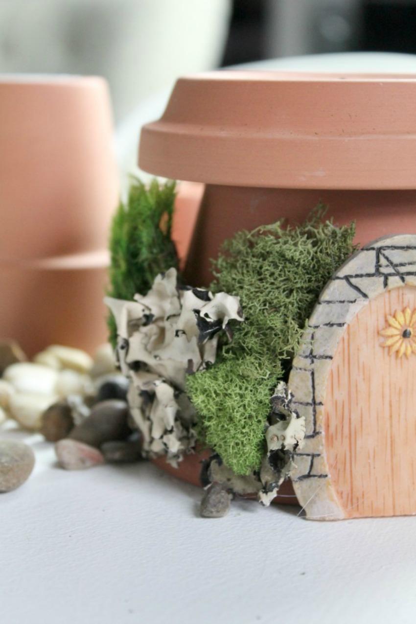 Fairy Garden Home process