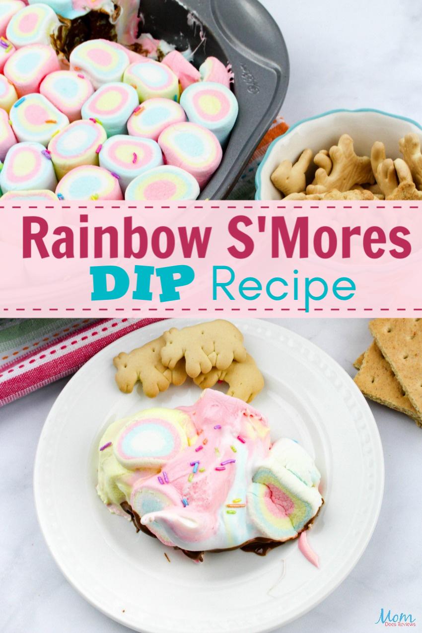 Yummy & Fun Rainbow S'Mores Dip Recipe