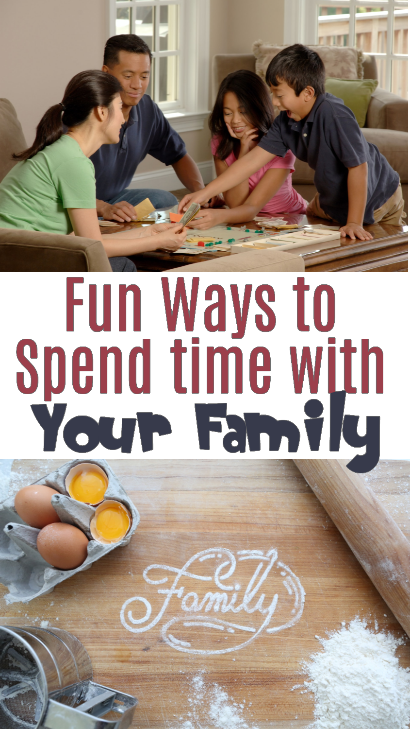 Spend More Quality Time With Your Kids Thru These Fun Ways