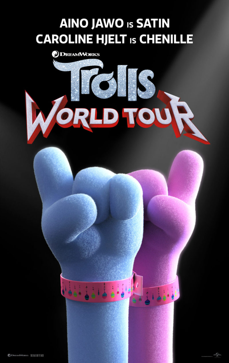 Check Out TROLLS WORLD TOUR Debut Feature #TrollsWorldTour