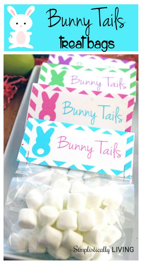 Bunny Tails Treat Bags + Free Printable!