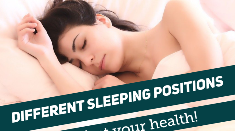 How Different Sleeping Positions Affect Your Health