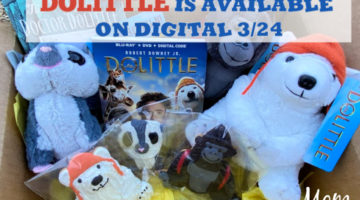 DOLITTLE is available on Digital 3/24 and on Blu-ray on 4/7! #DolittleMovie