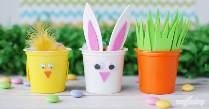 Easter Candy Treat Cups