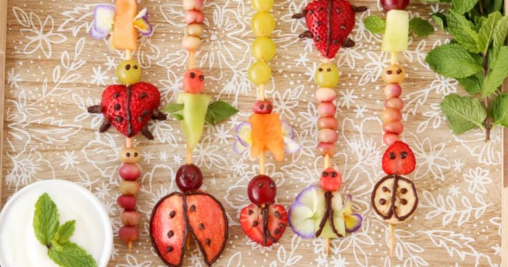 5 Fruit Bug Snacks