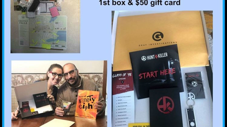 #Win Hunt a Killer Box and a $50 GC, US ends 4/10