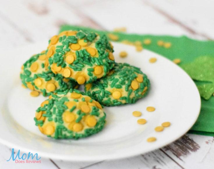 St. Patrick's Day Sprinkle Cookies