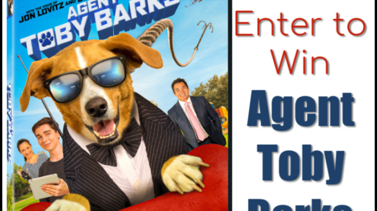 5 #Winners! Lionsgate's AGENT TOBY BARKS DVD! US ends 3/31