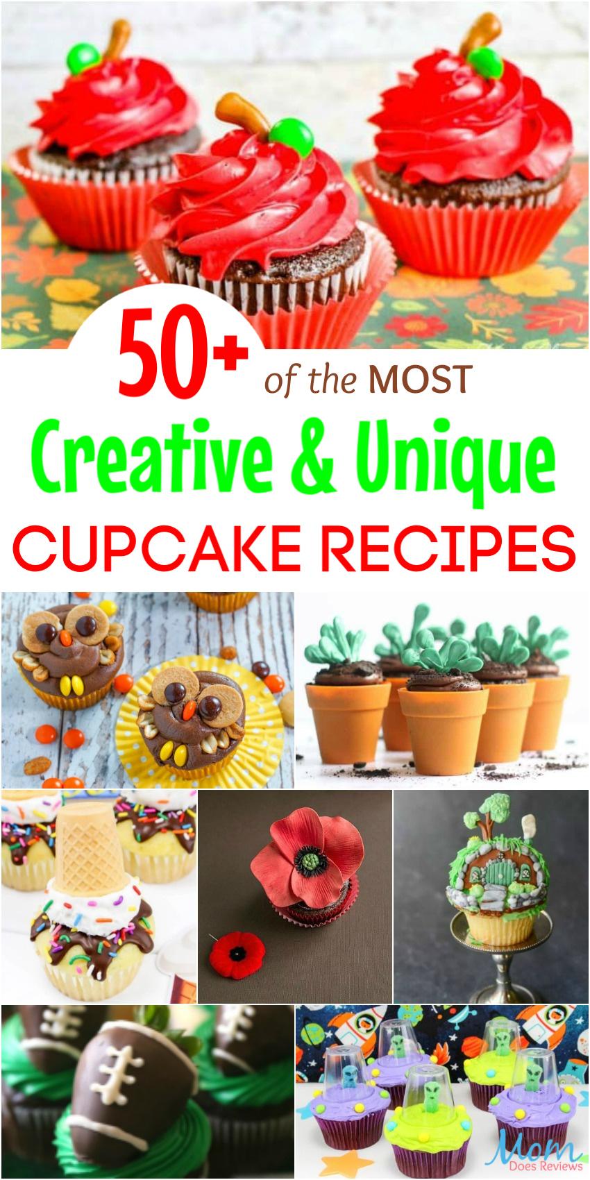 50+ of the MOST Creative & Unique Cupcake Recipes Around
