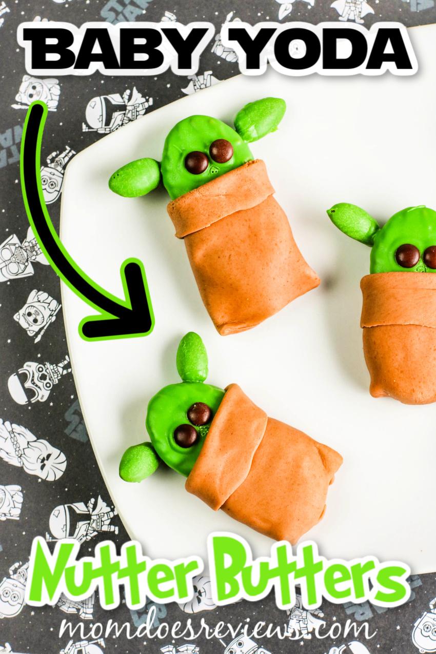 Baby Yoda Nutter Butters #yoda #starwars #funfood
