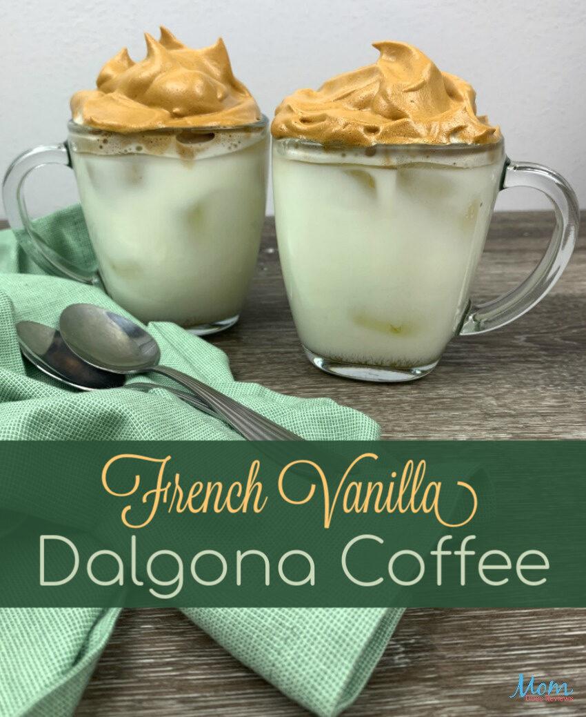 French Vanilla Dalgona Coffee banner 1
