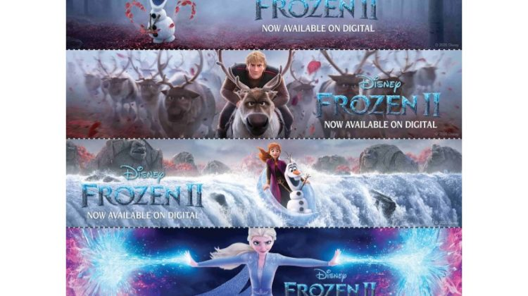 Frozen 2 Streaming on Disney+ - Get Free Printable Activity Sheets Here #Frozen2
