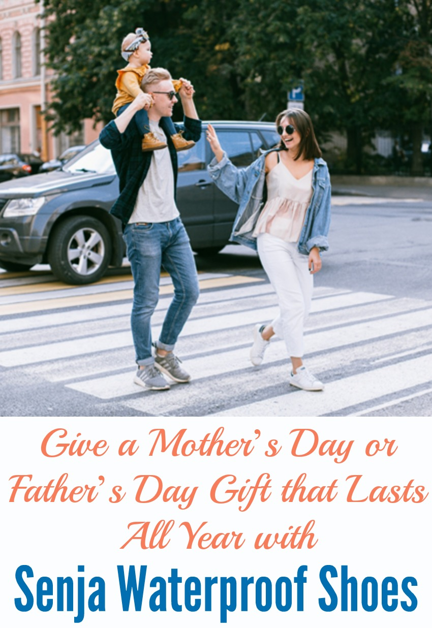 Give a Mother's Day or Father's Day Gift that Lasts All Year with Senja Waterproof Shoes